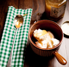 honey and yogurt food photography by luke cannon photography