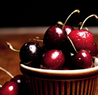 cherries fruit retro food photography